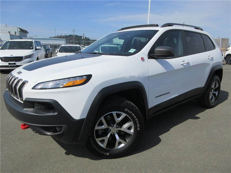 Pre-Owned 2018 Jeep Cherokee Trailhawk Leather Plus Sport Utility in